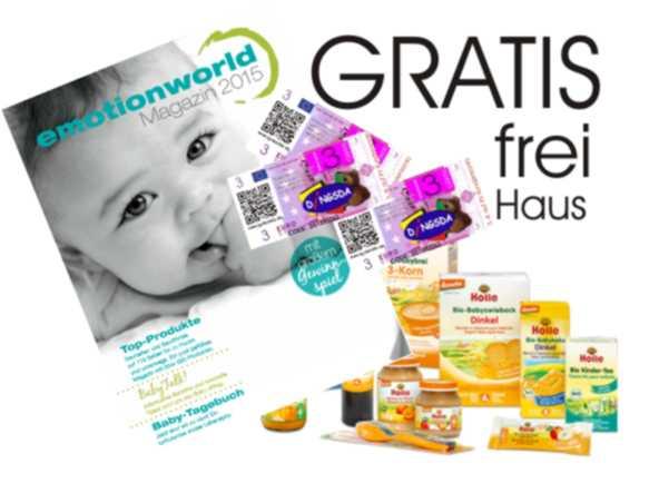 Gratis Babykatalog Einkaufsgutschein Und Produktprobe Ig Familiede